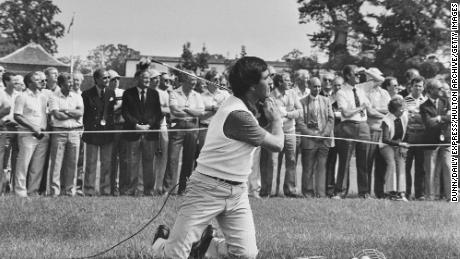 Ballesteros in action in 1984.
