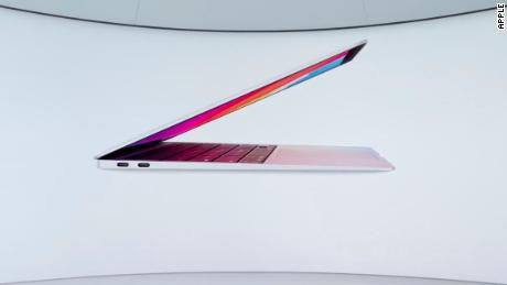 The new MacBook Air was the first laptop Apple announced with its new in-house chips.