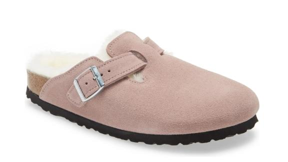 Birkenstock Boston Genuine Shearling-Lined Clog