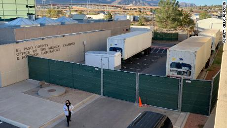 Closed storefronts, hospitals and mobile morgues: Residents of El Paso have been hit hard by the coronavirus