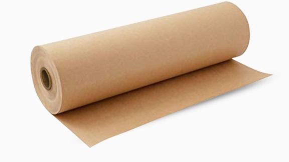 Kraft Brown Wrapping Paper Roll