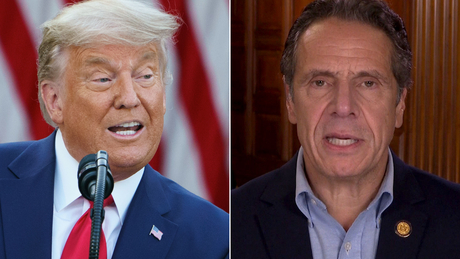 Gov. Cuomo responds to Trump's threat to not send vaccine to New York: 'He tries to bully people'