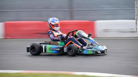 The Electroheads Motorsport karts are made with equal power and specifications, so talent is the only differentiator between competitors.