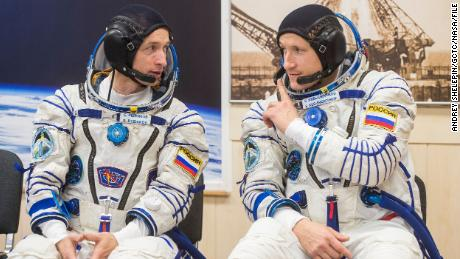 Russian spacewalk helps prepare space station for new module