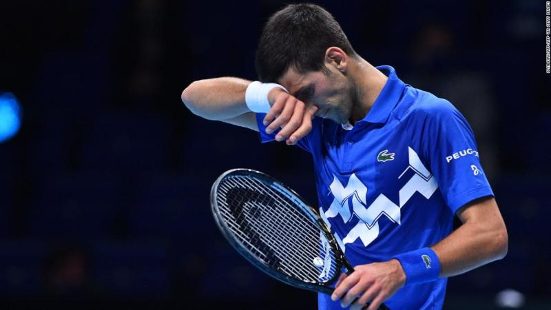 World No. 1 Djokovic stunned by Medvedev in straight sets