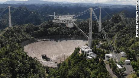 The end is near for famed Arecibo Observatory's damaged telescope