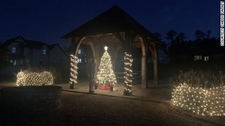 After photos of their twinkling neighborhood in Vestavia Hills, Alabama, went viral, other neighborhoods across the country chimed in with their own early Christmas cheer in honor of Ally.
