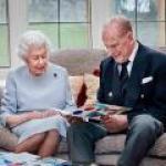 Queen Eliabeth Prince Philip 73rd anniversary