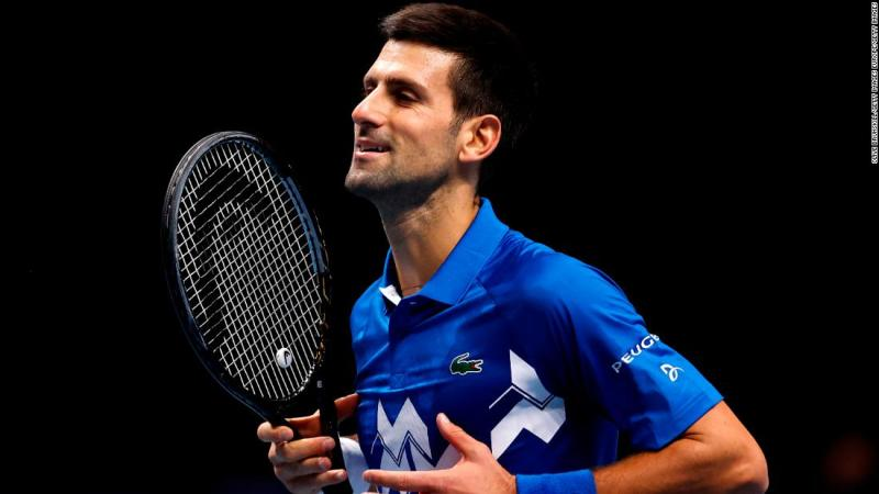 Djokovic completes ATP Finals last four after victory against Zverev