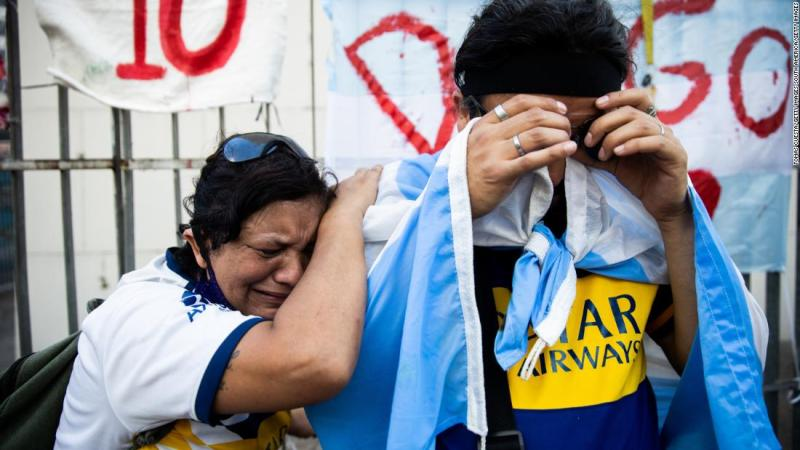 Diego Maradona did 'everything better and bigger, but fell more dangerously and darker'