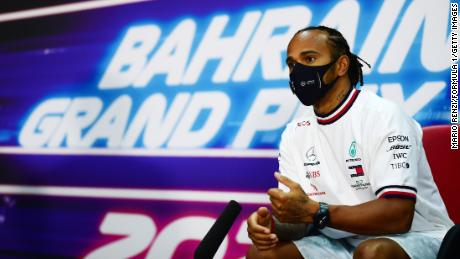 Lewis Hamilton addresses F1's 'massive problem' with human rights ahead of Bahrain Grand Prix