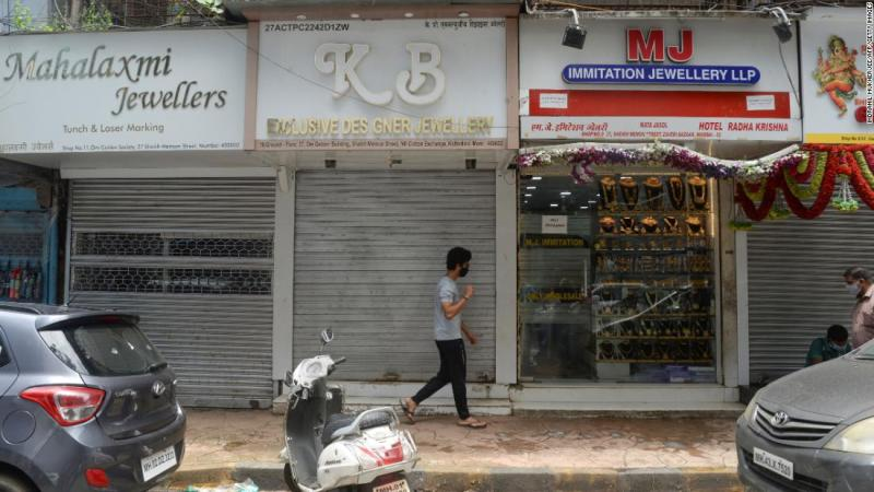 India suffers first recession in decades