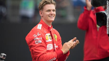 Mick Schumacher could win the F2 championship this weekend.
