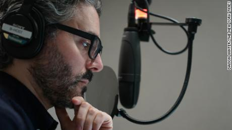 """""""The Daily"""" host Michael Barbaro"""