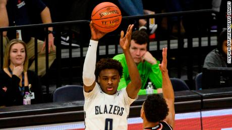 Bronny James is considered to be one of the best sophomore high school prospects in the country.
