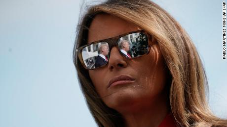 Melania Trump 'just wants to go home'