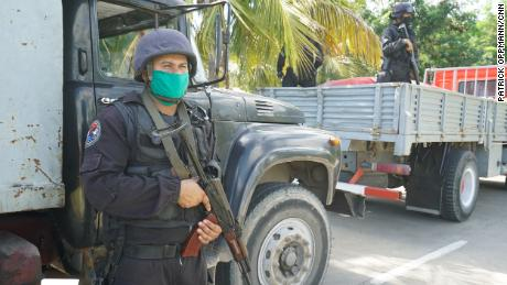 Cuban special forces troops oversee official efforts to stamp out drug trafficking headed to the US.