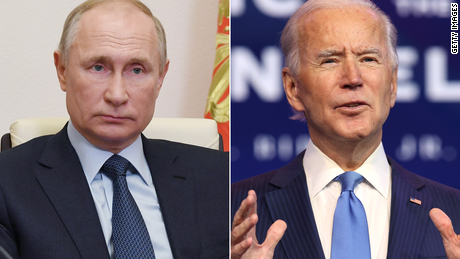 Biden says his 'hope and expectation' is to meet Putin on upcoming Europe trip