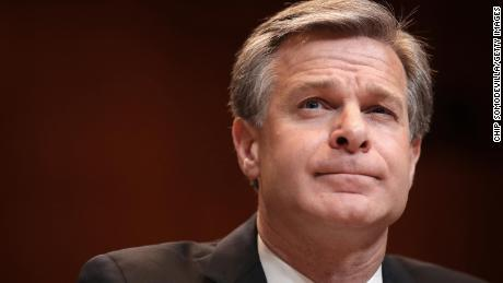 FBI Director Wray Knocks Down Conspiracy Theory That Jan.6 Rioters Were 'Fake Trump Protesters'