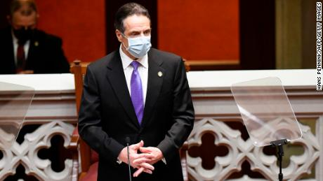 Cuomo admits error but defends delaying release of data on Covid-19 deaths at long-term care facilities