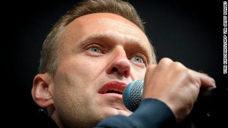Navalny, here at a demonstration in Moscow in 2019, was very careful on his travels, Kudryavtsev said.