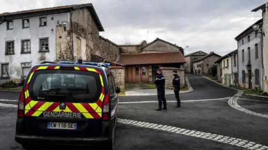 French police shooting: three policemen killed in Puy-de-Dôme after responding to an incident of domestic violence
