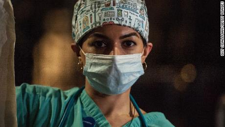 """Ameera Sheikh, an ICU nurse at a London hospital said: """"Nurses are essentially running around in ICUs ... for 12-15 hours without a toilet break or a glass of water."""""""