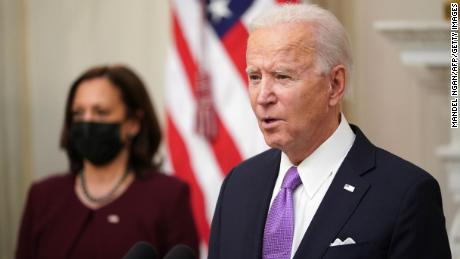 The White House wants Democrats to be patient with the stimulus as Biden pushes for the Biddartisan route, officials say