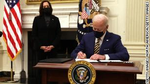 Here are the executive orders Biden has signed so far