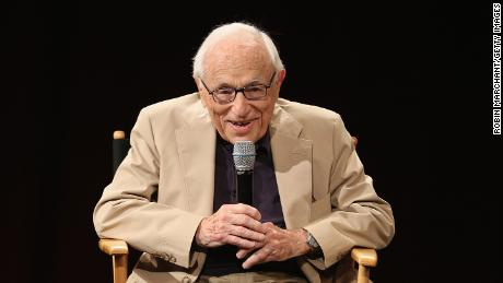 Screenwriter Walter Bernstein attends an academy panel on 7 June 2016 in New York.