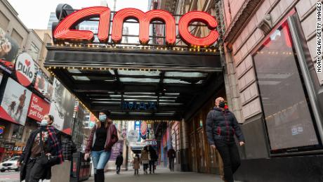AMC CEO believes his movie theater will survive until 2021