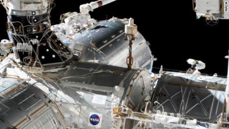 NASA astronauts Victor Glover, Mike Hopkins conduct spacewalk Wednesday
