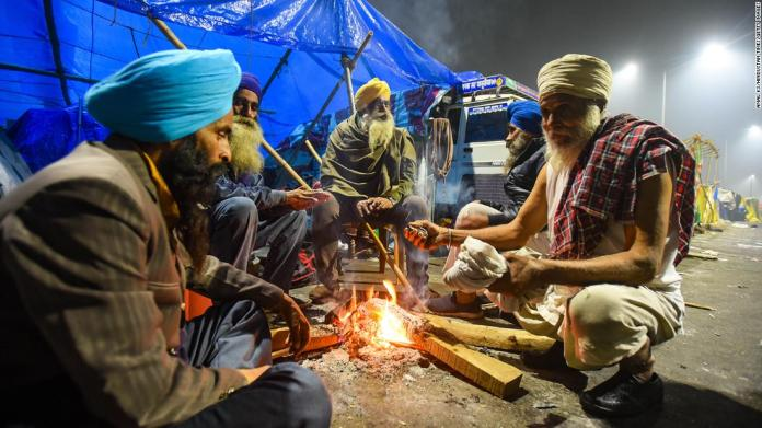 What life is like in Indian farmers protest camps on Delhi's outskirts