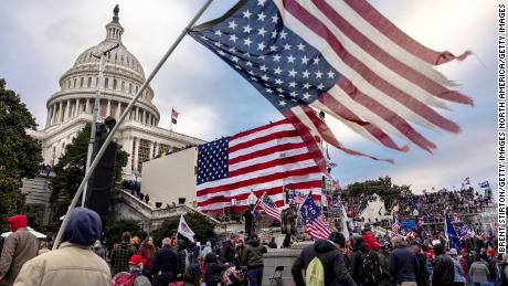 Trump supporters who breached the Capitol: 'It was not Antifa'