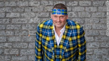Wear is known for its colorful tartan suits.