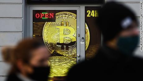 Bitcoin soars, nearing $50,000 for the first time