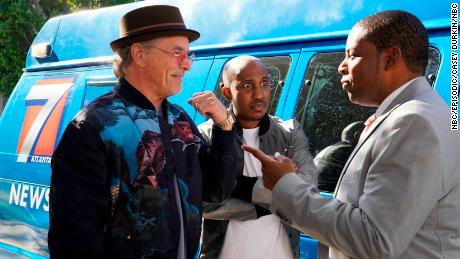 Don Johnson, NBC's Chris Redd and Kennan Thompson's & # 39;  Kenan's & # 39;  (Casey Durkan / NBC)