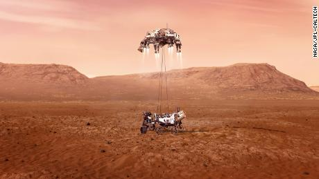 Perseverance rover has successfully landed on Mars and sent back its first images