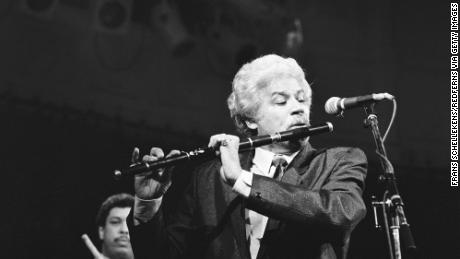 Johnny Pacheco performs in Paradiso in 1988.