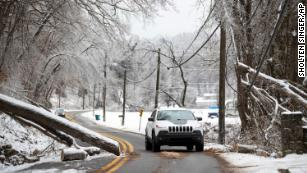 Catastrophic winter storm moves east