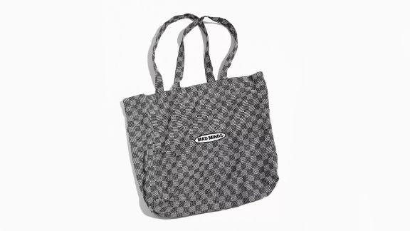M/SF/T Rudy Checkerboard Tote Bag