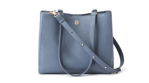 Dagne Dover Allyn Leather Tote