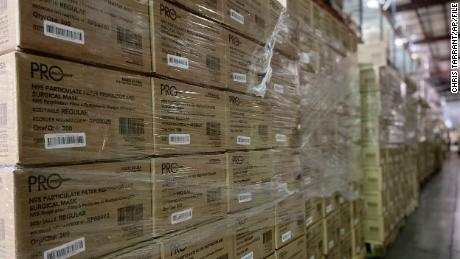 FEMA approved export of N95 masks as workers demanded more