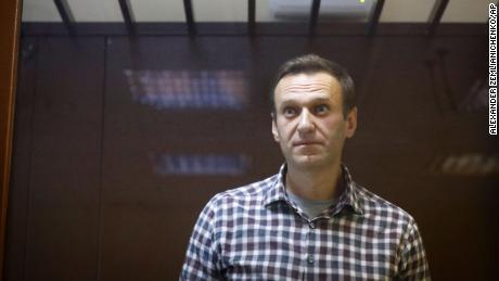 Putin critic Alexey Navalny arrives at penal colony east of Moscow