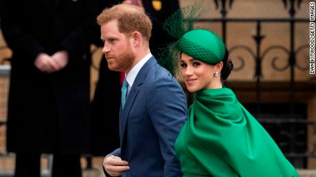 Harry and Meghan say Prince Philip will be 'greatly missed'