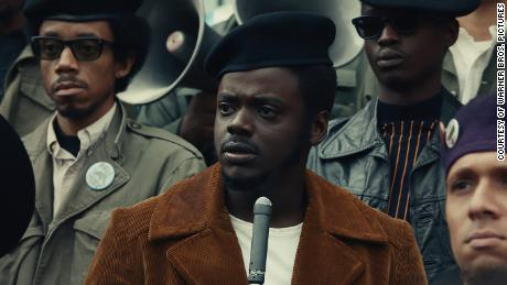 """Kaluuya says Fred Hampton """"was coming through me"""" as he portrayed the Black Panther leader."""
