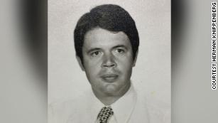 Herman Knippenberg in 1975.