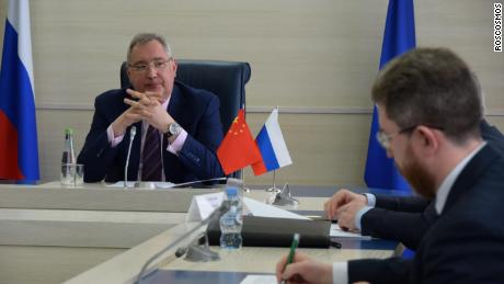 China and Russia agree to build joint lunar space station
