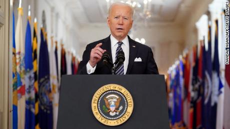 Biden orders states to open vaccines to all adults by May 1