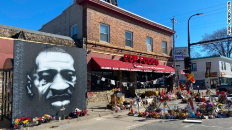 The place where George Floyd died is now a sacred space and a battlefield